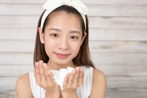 ベビーパウダー洗顔のイメージ