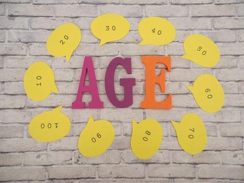 年齢のイメージ画像